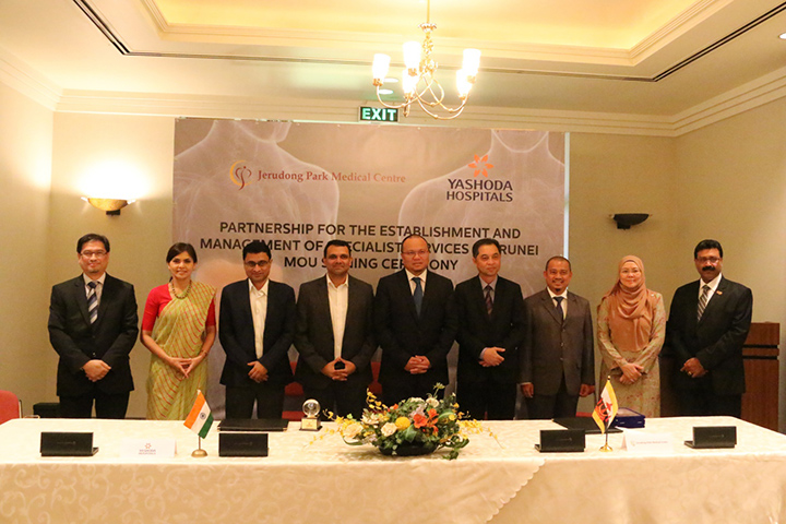 (JPMC) Inks MOU With Yashoda Healthcare Services Private Limited Hospitals Providing Liver And Kidney Tranpslant Services