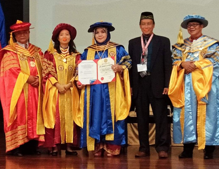 JPMC Nurse Awarded at the Royal Institution's 14th Global Congress and Conferment Ceremony