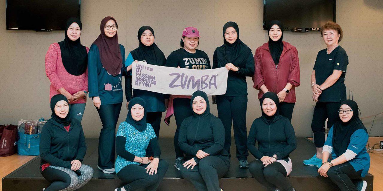 JPMC held Zumba with PEKERTI