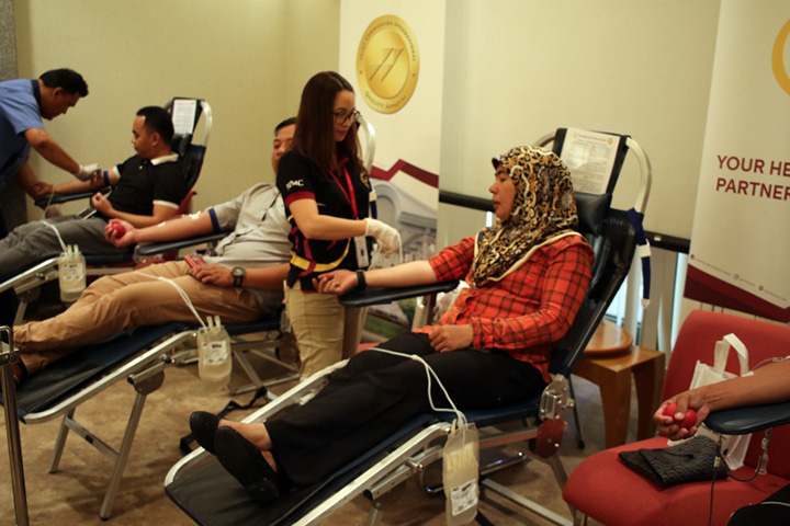 Military Police Royal Brunei Armed Forces Contributes to JPMC Blood Donation Campaign