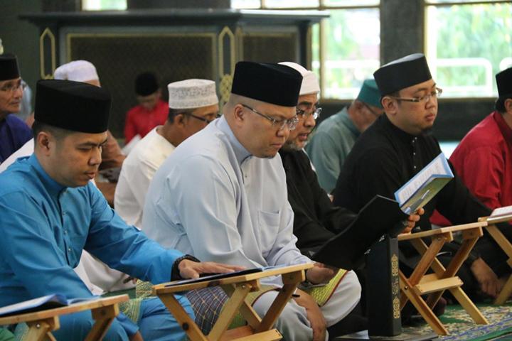 JPMC & PJSC held Khatam Al-Quran & Sungkai Event at Al-Ameerah Al-Hajjah Maryam Mosque