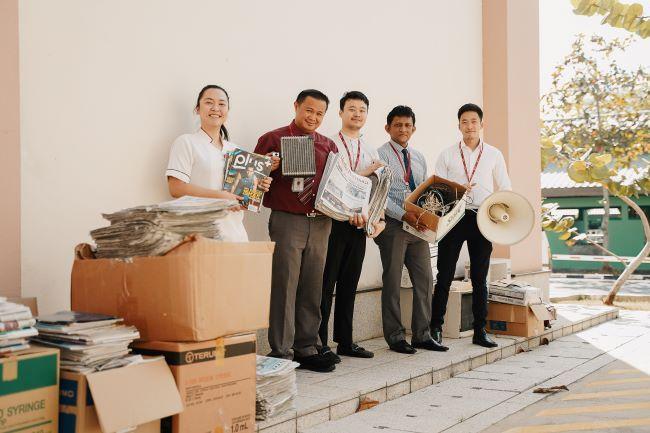 Reuse Reduce Recycle   JPMC Brunei