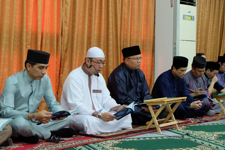 JPMC & PJSC Quran Verse Recital, Tahlil and Iftar In Conjunction With International Nurses' And Midwives' Week