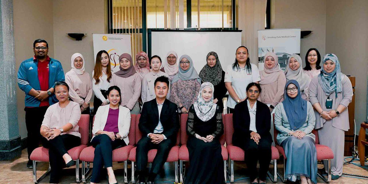 Jerudong Park Medical Centre celebrates International Women's Day with Health Talk