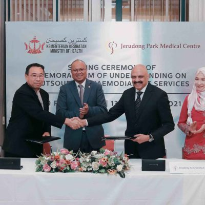 JPMC signs Memorandum of Understanding (MOU) with Ministry of Health on Outsourcing Haemodialysis Services